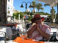 Lunch in Moraira